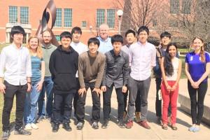 6 KU undergraduates visit Illinois in Spring 2017