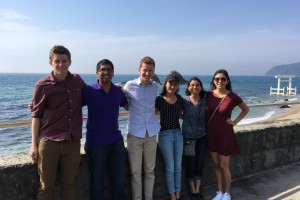 Summer 2016 x-FU(s)ION student interns in Japan