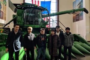 6 KU undergraduates visit Illinois in Spring 2018