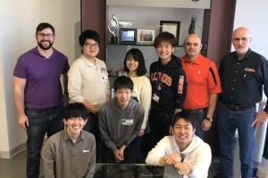6 KU undergraduates visit Illinois in Spring 2019